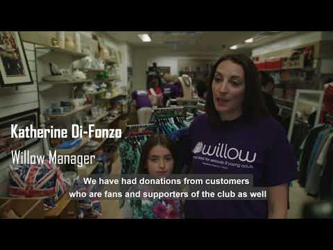 Arsenal staff takeover Willow shop