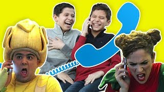 فوزي موزي وتوتي – مقلب التلفون – Phone call prank