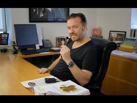Ricky Gervais' Greatest Writing Lesson