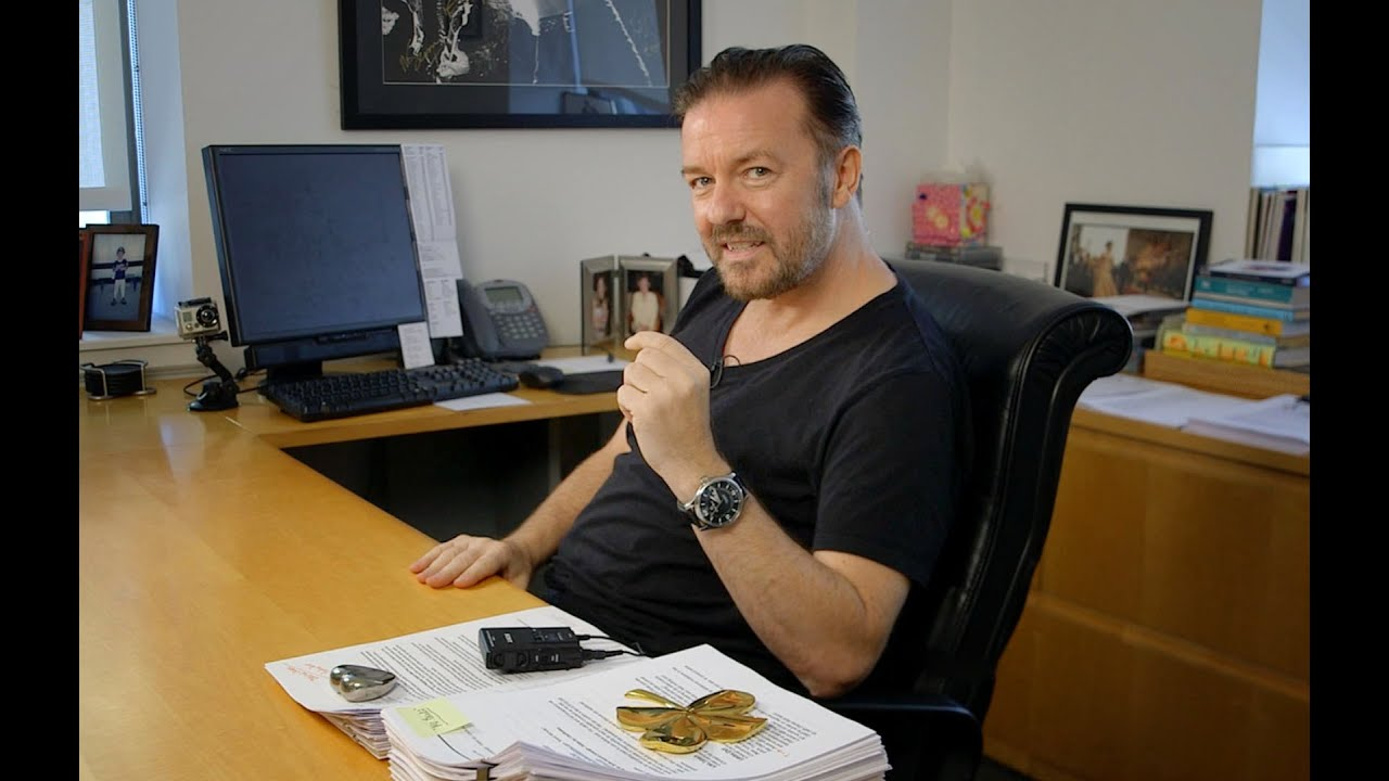 Ricky Gervais Tells A Story About How He Learned To Write | Fast Company