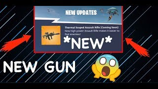 *NEW* THERMAL SCOPED AR COMING TO FORTNITE BATTLE ROYALE!