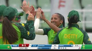 Momentum Proteas vs Pakistan Women | First ODI Highlights | Hollywoodbets Kingsmead Stadium, Durban.