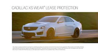 Gambar cover Cadillac XS Wear Lease Protection