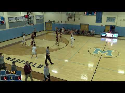 Medfield High School vs. Millis High School Varsity Mens' Basketball
