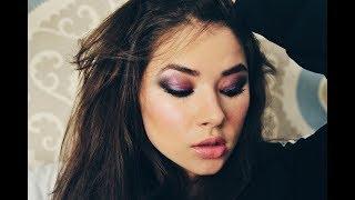 Вечерний макияж для карих глаз: видеоурок