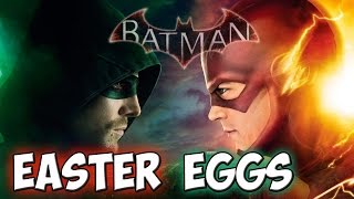 EASTER EGGS BATMAN Arkham Knight: ARROW e FLASH