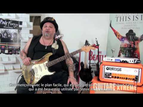 Popa Chubby - Blues Rock Guitar Lesson - Guitare Xtreme #72