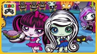 Monster High Minis Mania * Кафе Монстер Хай Минис * Игра для девочек от Animoca Brands