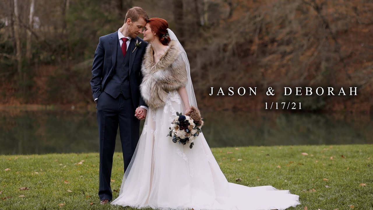 Beautiful Winter Wedding // Jason & Deborah // Black Fox Farms // Cinematic Film