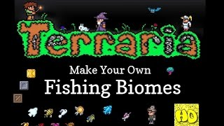 Terraria How to Make Biome Fishing Farms