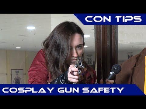 Cosplay Prop Gun Safety - Con Tips