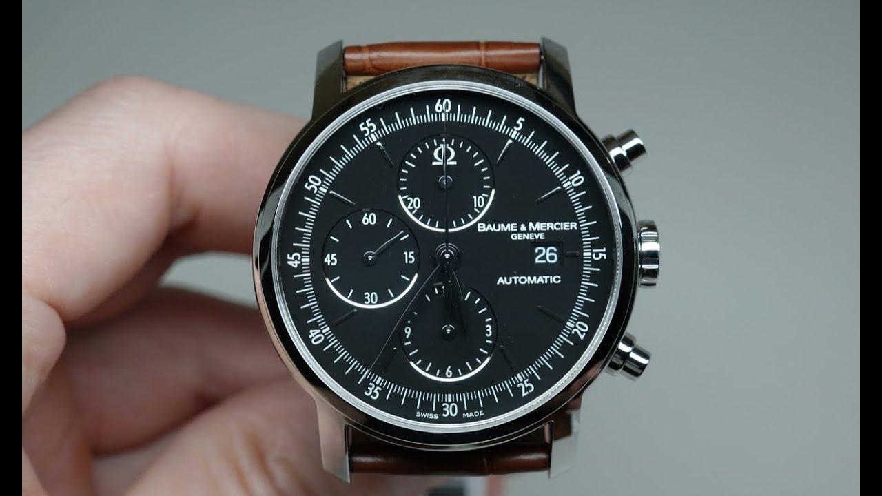 c9627383eda Baume   Mercier Classima Chronograph Men s Watch Review Model  MOA8589