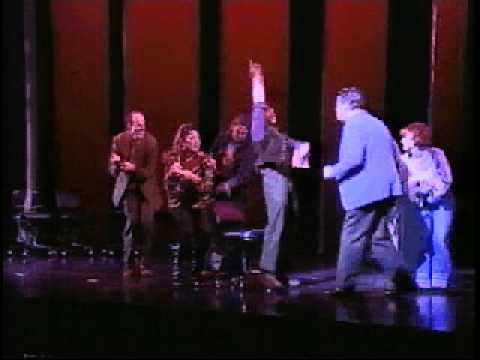 A Scene from the Broadway Musical