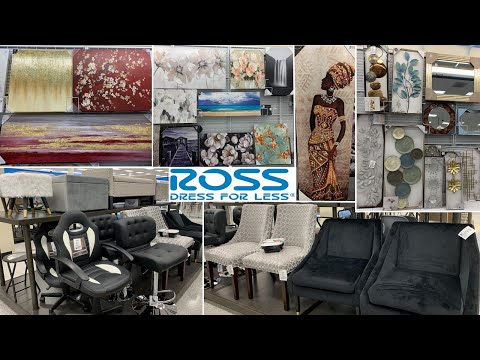 ROSS Furniture & Home Decor Wall Decor | Shop With Me 2020