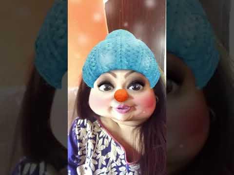 Baap re baap itni sardi(Hira shaikh actress)funny clip