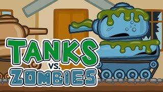 Танки против Зомби №5: Побег от монстров   Мультик про танки