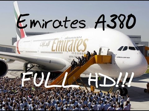 Emirates A380 SuperJumbo,  Dubai to Bangkok - Take off and Landing with nose and tail cam views.