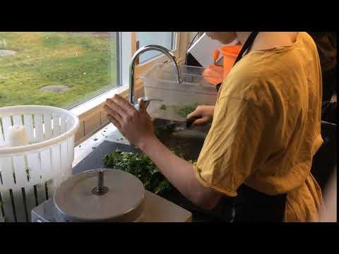 Žáci V Nymarkskolen Připravují Oběd Pro Ostatní žáky