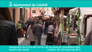 Inauguració de la II Fira del Terròs i de les obres de remodelació dels entorns del Castell