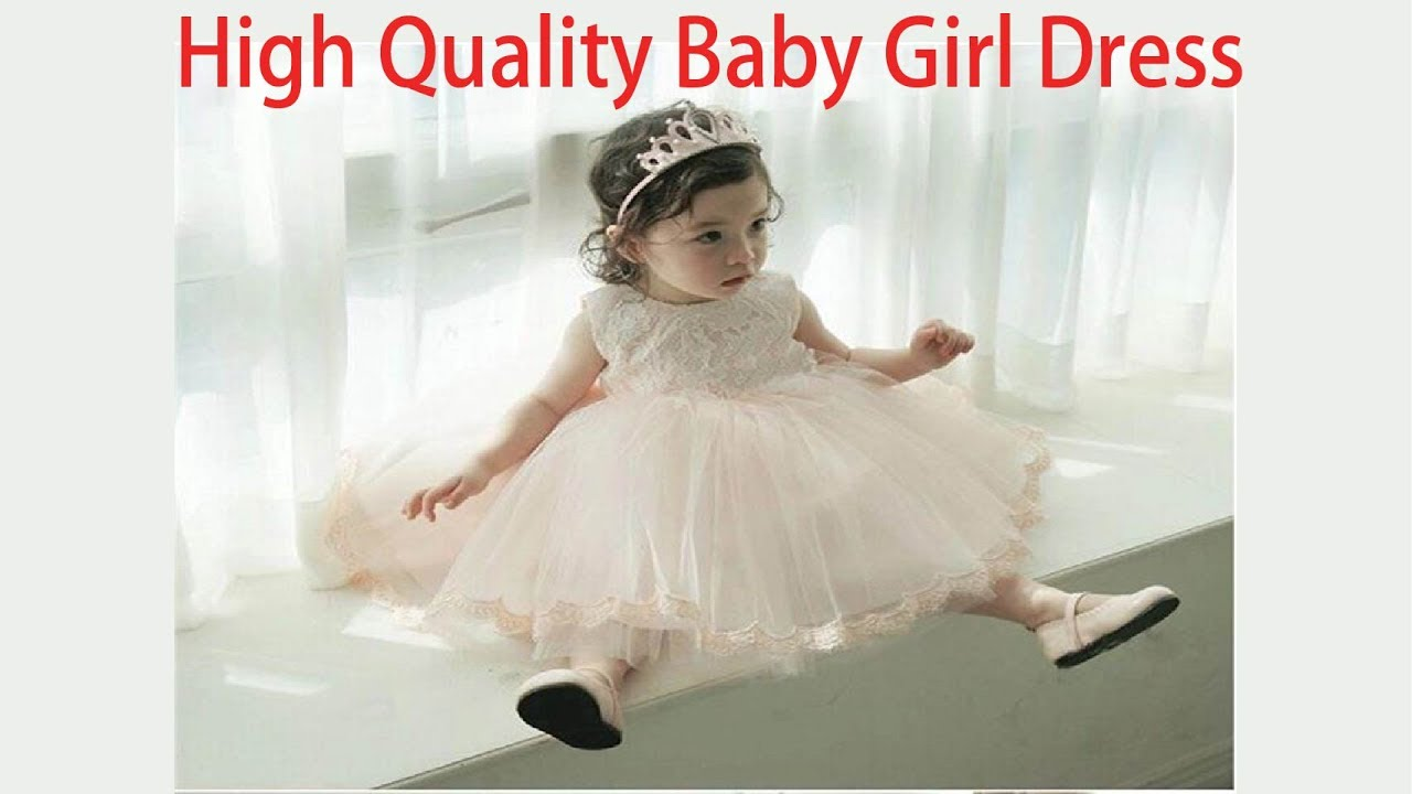 High Quality Baby Girl Dress ! 1 Year Birthday Dress for Baby Girl ! kids  baby dresses for party