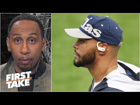 Stephen A. urges Dallas to sign Dak Prescott: The Cowboys 'flat-out stink' without him! | First Take