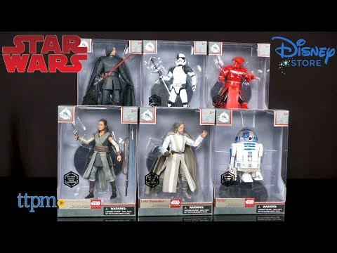 Star Wars: The Last Jedi Elite Series Die Cast Action Figures from The Disney Store