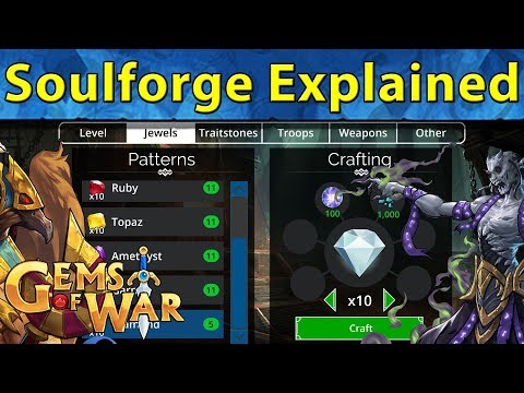 Gems of War: Soulforge Explained | Efficient Use and Resource Allocation