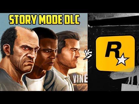 ROCKSTAR FINALLY REVEALS WHAT HAPPENED TO THE GTA V STORY MODE DLC!
