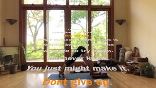 Inspiration from Shanti Yoga Practice : We all Fall, Don't give up