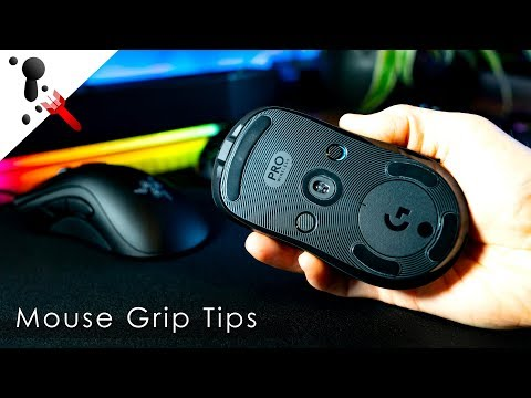 How To Grip A Gaming Mouse For Best Aim Potential