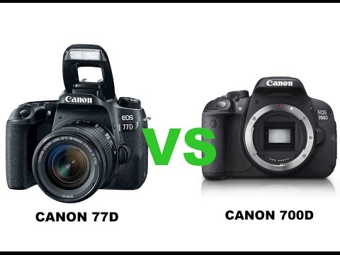 Canon 77d vs canon 700d youtube for Housse canon 700d