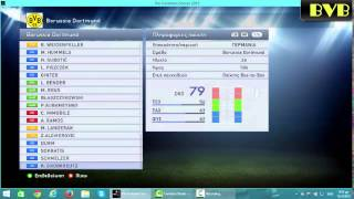 PES15 HOW TO CREATE BVB PART 3