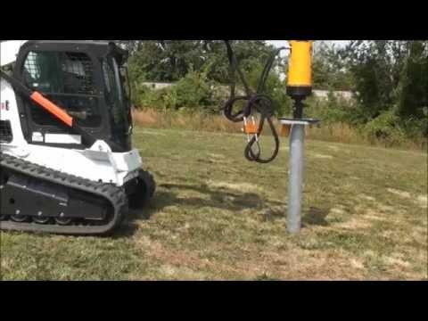 Light Pole Foundation Installation