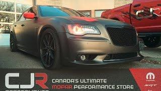Chrysler 300C SRT8 With Blower Cam & American racing headers Cjr Performance