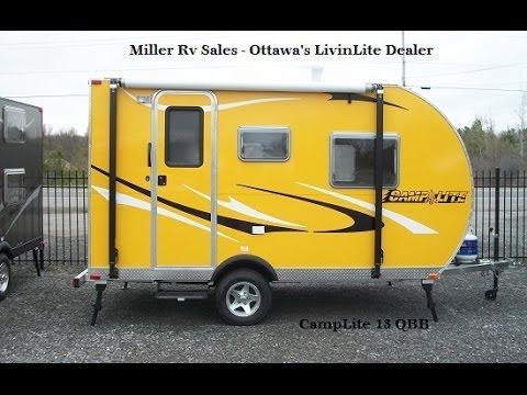Camplite 13 Qbb Miller Rv Sales Youtube