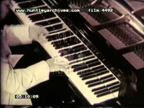 Classic Piano, 1940s  Film 4492