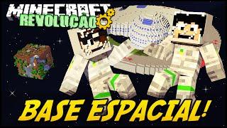 Minecraft: A REVOLUÇÃO - BASE ESPACIAL! #55