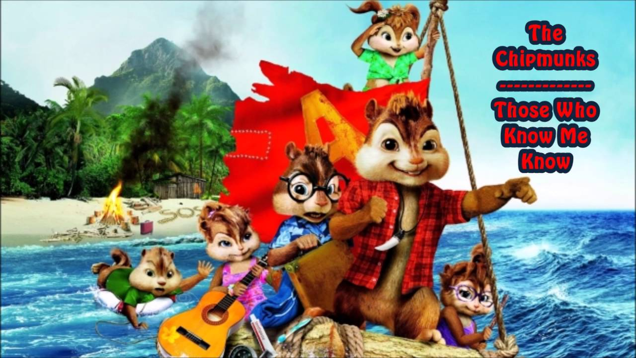 what three characters sing the chipmunk song