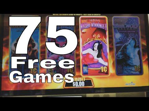 Wicked Winnings 2 Slot Machine 💥 ★75 FREE GAMES WON★ 💥 First Spin Bonus