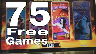 Wicked Winnings 2 Slot Machine 💥 ★75 FREE GAMES WON★ 💥 First Spin Bonus