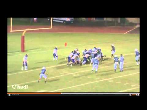 Joshua Hinson #51 Senior Football Highlights