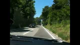 Croatia 2012 road to Plitvica