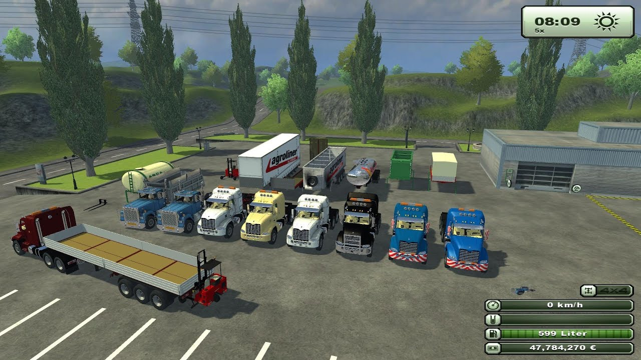 LS 13 Mod Preview , Mack Pack by tackleberry - YouTube