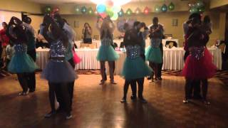 Caribbean Sweet Sixteen Court Dance