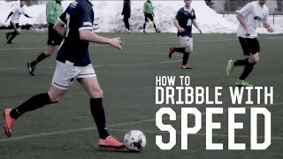 How To Dribble Like Messi, Bale & Robben | Beat Defenders With Speed | Soccer Dribbling Tutorial