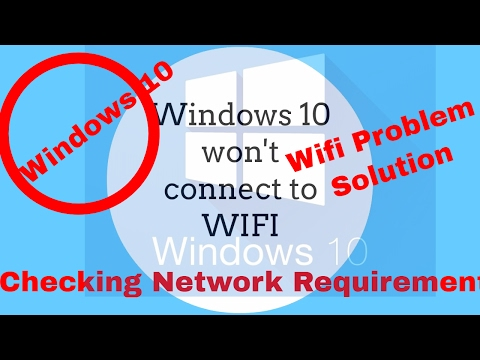 Fix Windows 10 Anniversary Update No Connection Problem With wifi  FunnyDog.TV