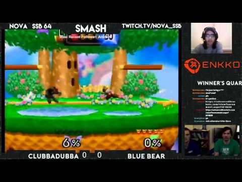NOVA SSB64 12/3 | Blue Bear vs Clubbadubba