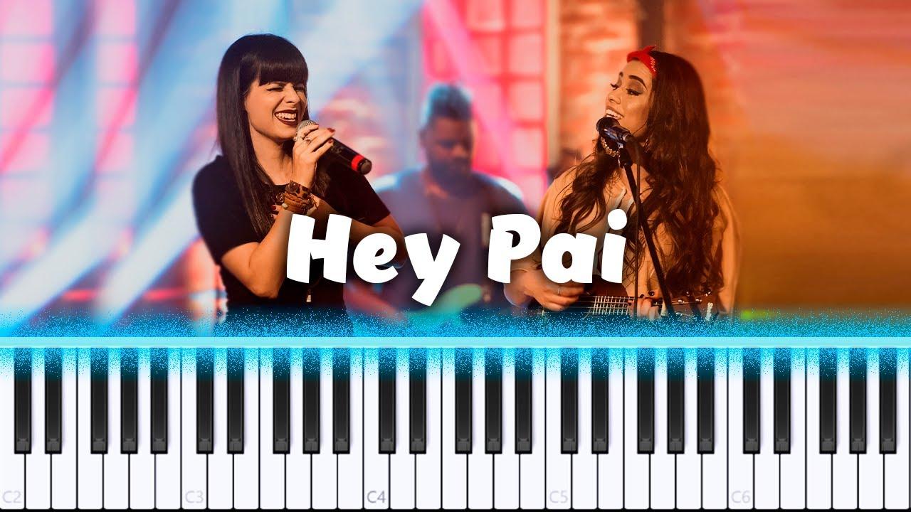 Como Tocar Hey Pai - Isadora Pompeo (Piano Tutorial)