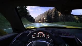 THE CREW driving Corvette Stingray C7