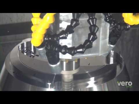 Vero Software GmbH: Fräsen und Drehen in einer Aufspannung | CAM-System: Edgecam